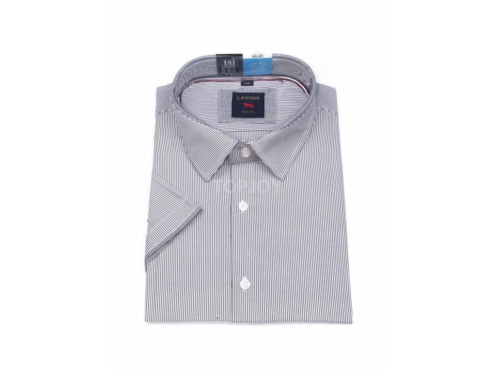 pánská košile krátký rukáv TSK54 1 slimfit (1)