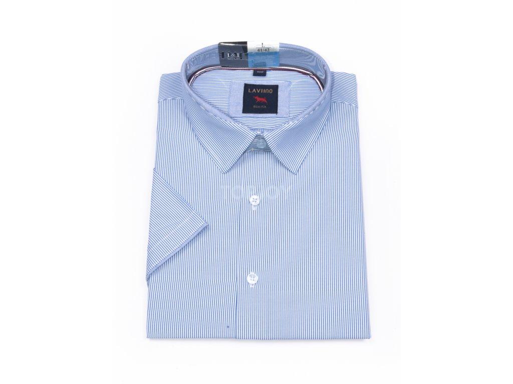 pánská košile krátký rukáv TSK54 3 slimfit (1)