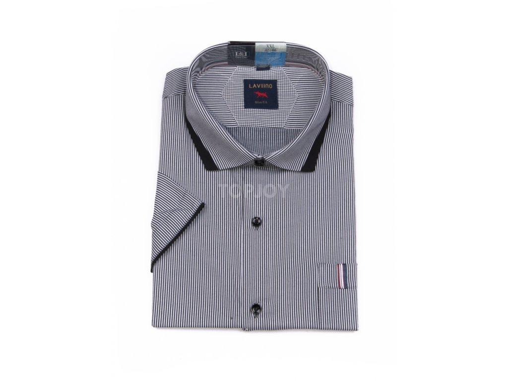 pánská košile krátký rukáv TSK55 1 slimfit (1)