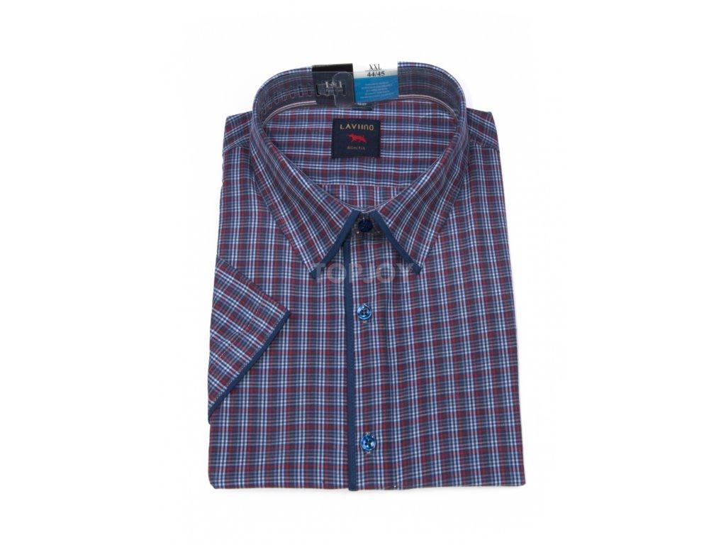 pánská košile krátký rukáv TSK63 2 slimfit