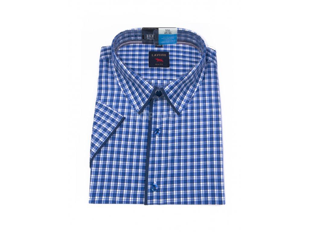 pánská košile krátký rukáv TSK63 4 slimfit (1)