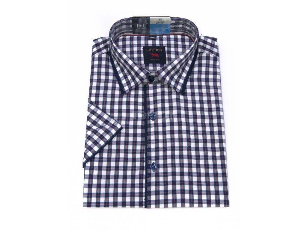 pánská košile krátký rukáv TSK64 3 slimfit (1)