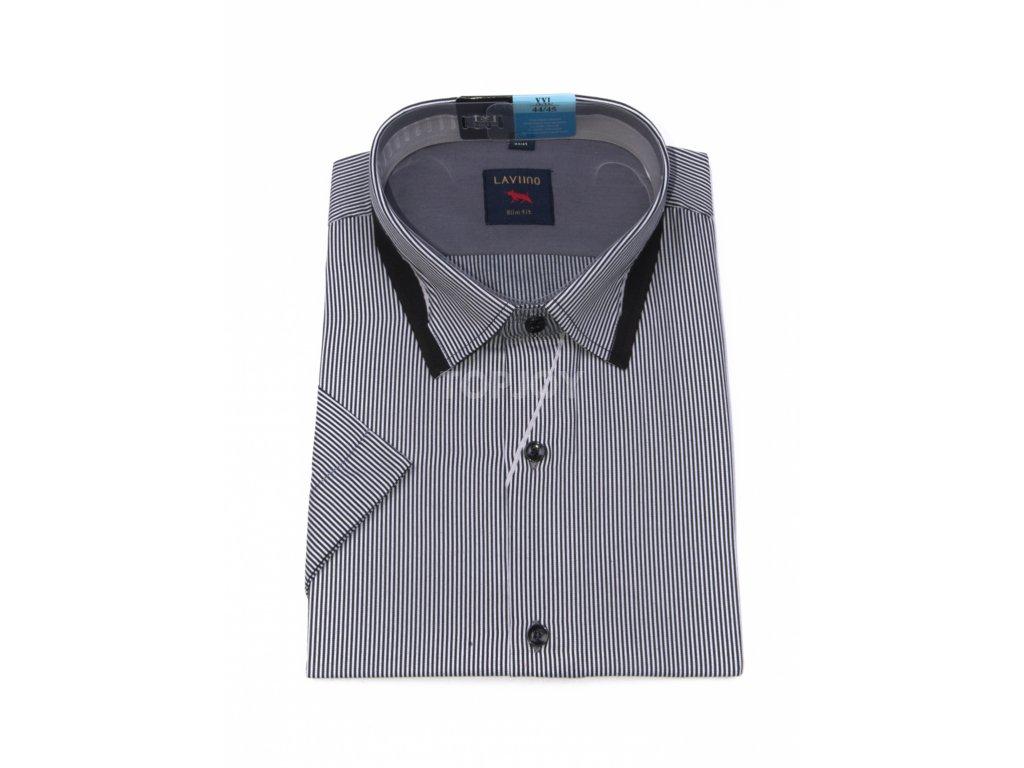 pánská košile krátký rukáv TSK76 1 slimfit (1)