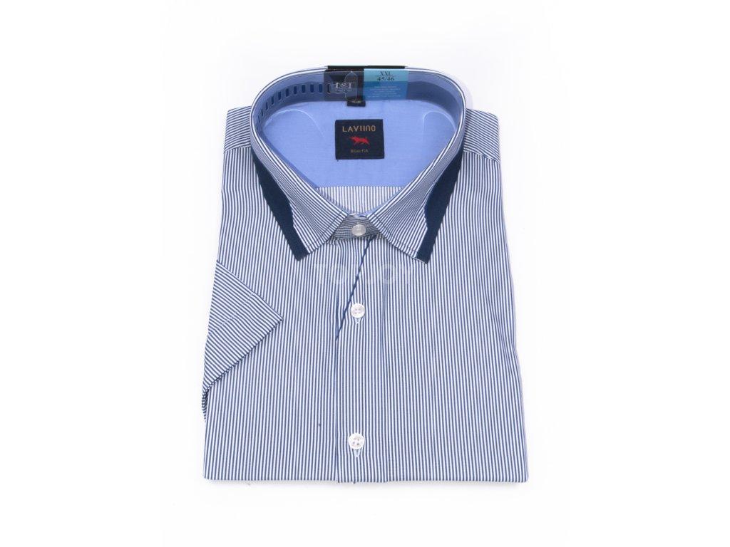 pánská košile krátký rukáv TSK76 3 slimfit (1)