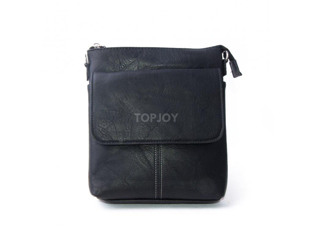 Pánská taška přes rameno UNI black a44 - TOPJOY 13392f5c95