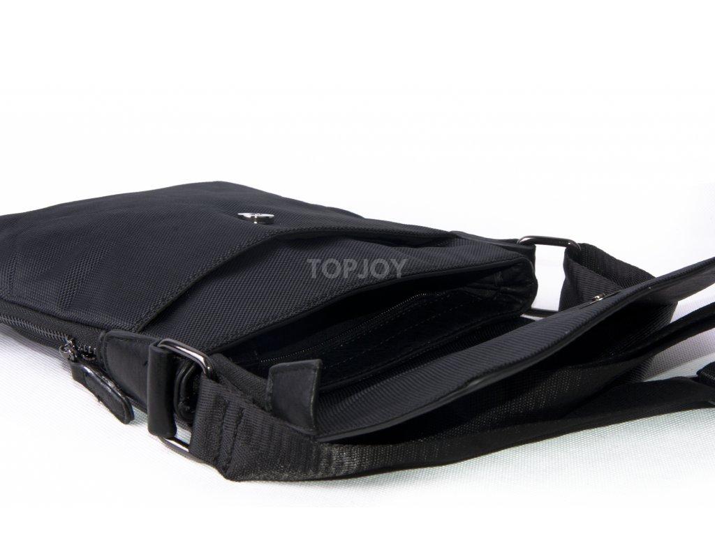 Pánská taška přes rameno MICK black hh6049 - TOPJOY 27d6e50b6e