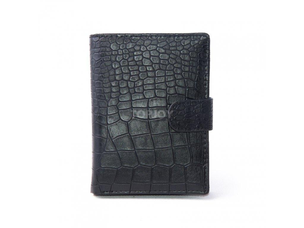 Pánská peněženka MAN 7 black a59