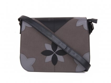 dámská kabelka s květy pevným dnem 3670 (1)
