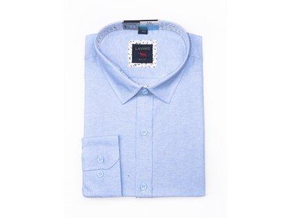 pánská lněná košile s dlouhým rukávem TS92 (1)