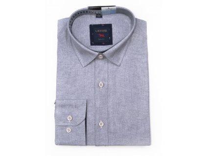 pánská lněná košile s dlouhým rukávem TS92 (7)