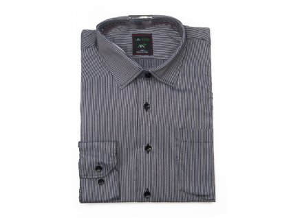 pánská košile s dlouhým rukávem proužkem ndt4 (4)