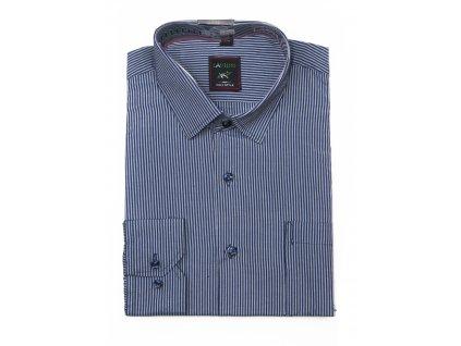 pánská košile s dlouhým rukávem proužkem ndt4 (6)