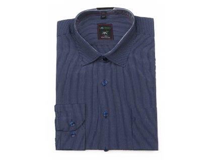 pánská proužkovaná košile s dlouhým rukávem ndt2 (1)