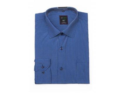 pánská proužkovaná košile s dlouhým rukávem ndt2 (3)