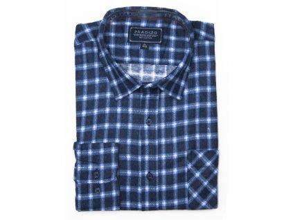 pánská kostkovaná košile flanelová F12 (5)