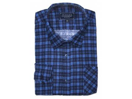 pánská kostkovaná košile flanelová F12 (7)