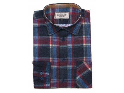 pánská košile kostkovaná flanelová F9 (3)