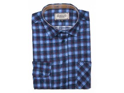 pánská košile kostkovaná flanelová F9 (5)