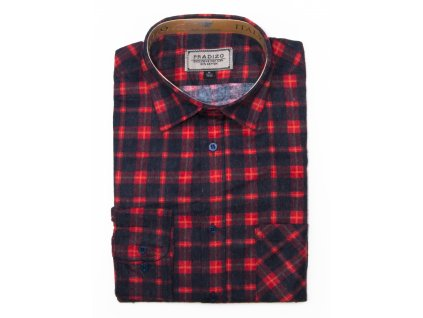 pánská košile kostkovaná flanelová F9 (7)