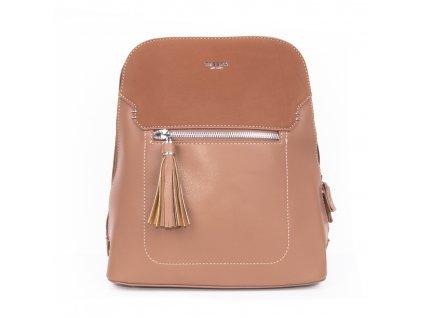 dámský elegantní batoh s pevným dnem 4892 ts (1)