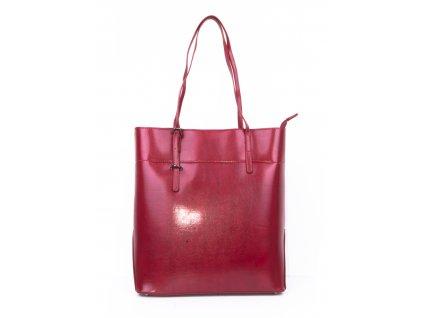 dámská lakovaná velká kabelka shopper 2564 (6)