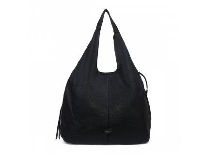 jednobarevná dámská kabelka na rameno pytel 5064 (1)
