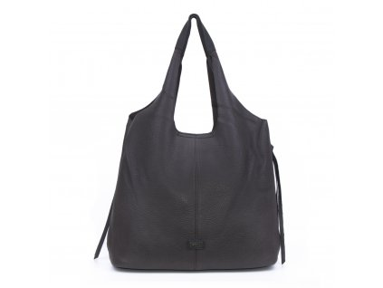 jednobarevná dámská kabelka na rameno pytel 5064 (11)