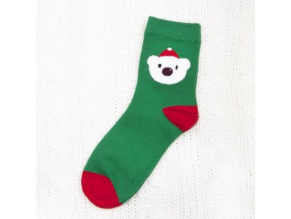 dámské vánoční ponožky sn6682 (2)
