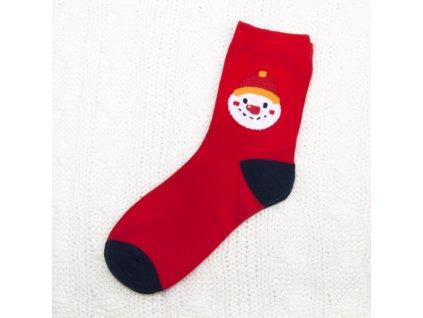 dámské vánoční ponožky sn6682 (4)