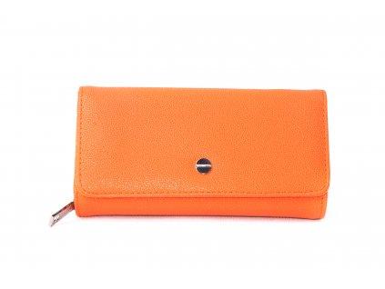 Dámská peněženka FLO9399 oranžová