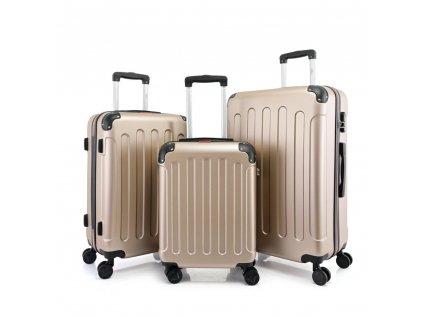 Bontour Vertical Bőrönd Collecion Rose Gold (1)