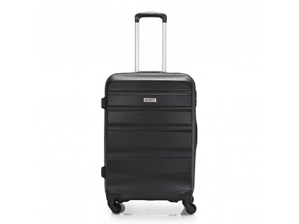 Skořepinový ABS kufr 120340 černý M