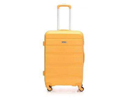 Skořepinový ABS kufr 120340 žlutý M