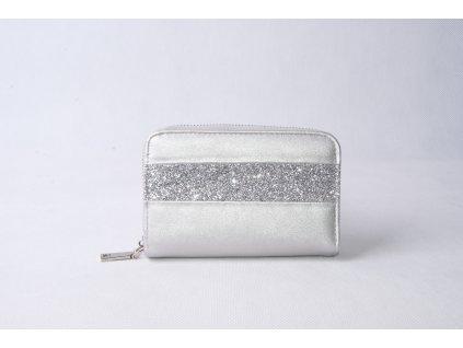 Dámská peněženka FLO9407 stříbrná