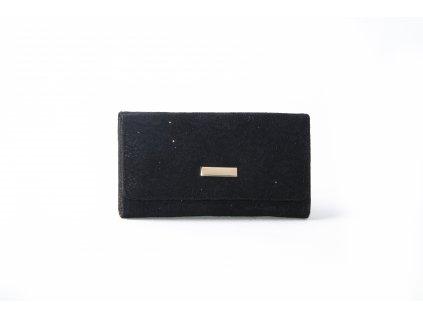 Dámská peněženka s krajkou ARIANA black xd152