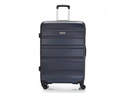 Skořepinový ABS kufr 120340 tmavě modrý L