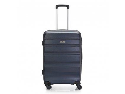 Skořepinový ABS kufr 120340 tmavě modrý M
