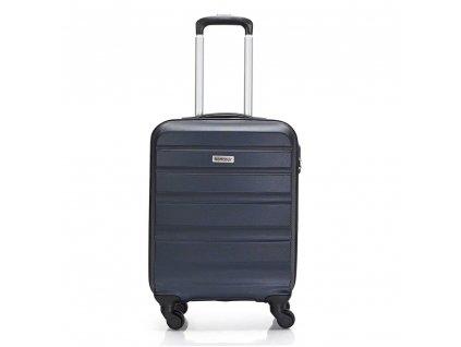 Skořepinový ABS kufr 120340 tmavě modrý S