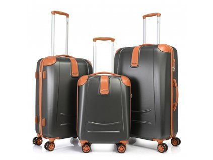 Bontour Elegance Bőrönd szürke (1)