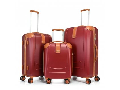 Bontour Elegance Bőrönd bordó (1)
