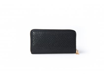 Dámská peněženka s hadím vzorem AMELIA black XD9818
