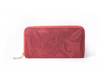Dámská peněženka XD9824 červená