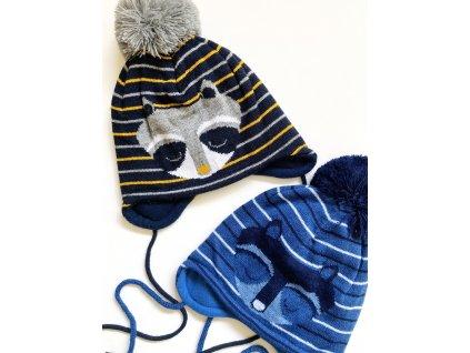 dámská zimní čepice kulich (163)