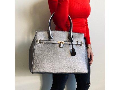 dámská kabelka stříbrná