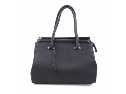 Originální dámská kabelka válcovitého tvaru 18330 černá