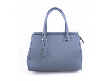 Originální dámská kabelka válcovitého tvaru 18330 modrá