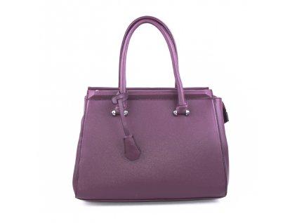 Originální dámská kabelka válcovitého tvaru 18330 vínová