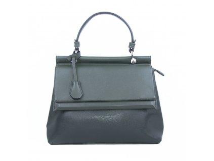 Luxusní dámská kabelka aktovka 18331 zelená