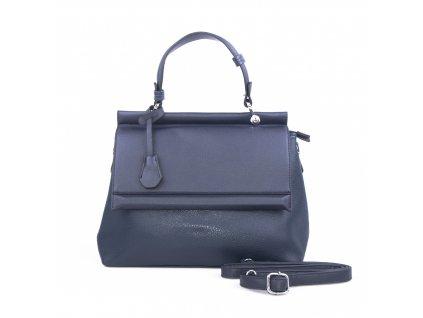 Luxusní dámská kabelka aktovka 18331 modrá