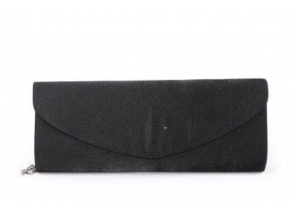 Dámské elegantní psaníčko 681-7 černé